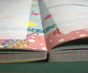 製本 ノド 版面設計 SCRAP&RECORDING DIARY 家計簿 綴じ