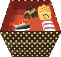 フリー素材 イラスト おせち料理 お正月 新年 PSD カスタマイズ おとなままごと 遊び サンプル画像