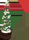 クリスマスツリー イラスト フリー素材