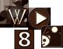 チョコレート アイコン SNS その他 ダウンロードボタン