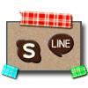 マスキングテープ 春らしいチェック & 春らしくないチェック チョコレートアイコン SNS ダウンロードボタン