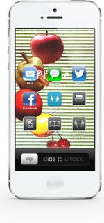 壁紙素材 iPhone iPod Android フルーツ 写真 加工 サンプル画像