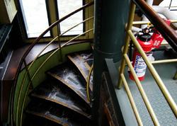 隅田川 TOKYO CROOZ 船内 レトロ フリー写真素材