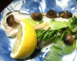 料理 レシピ 簡単料理 白身魚の包み焼き