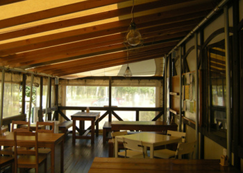 那須 青木の森カフェ 写真素材