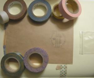 家計簿 束見本 スクラップ SCRAP&RECORDING BOOK SCRAP&RECORDINGDIARY マスキングテープ