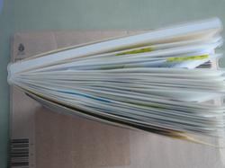 思い出をスクラップ! なんでも貼れる3ヶ月分の日記帳 スクラップ アンド レコーディング ダイアリー