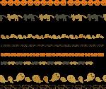 ライン素材ハロウィン《カボチャ、黒猫、オバケ》配布と「仙台は牛たんと笹かま」というあえての前振りからの〜