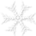 フリー素材 クリスマス 冬 イラスト 雪の結晶 リンクアイコン