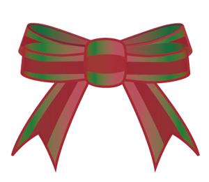 リボン クリスマスカラー3