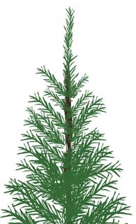 クリスマスツリー パーツ